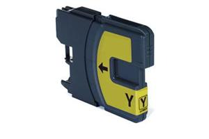 Cartuccia Compatibile LC980/1100Y Giallo 10.6ml