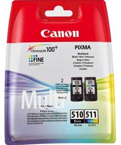 Multipack Canon PG-510 + CL-511